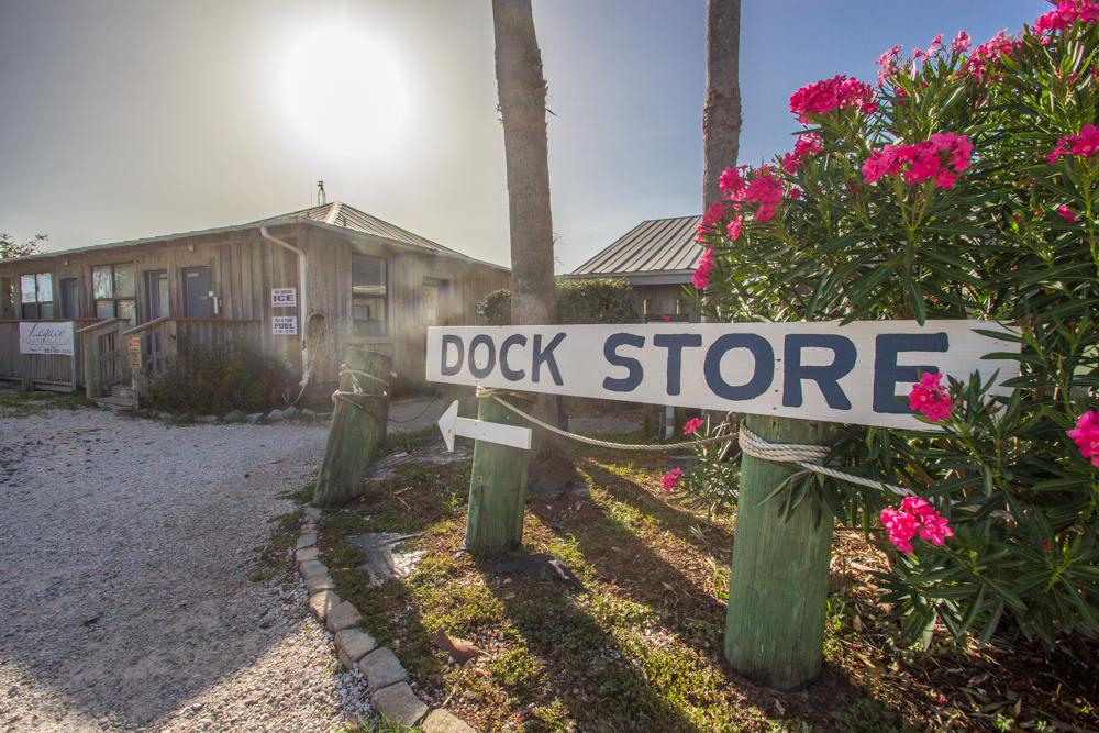 Dock store in Bear Point